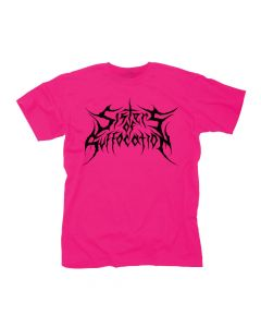 SISTERS OF SUFFOCATION - Pink Logo / T- Shirt