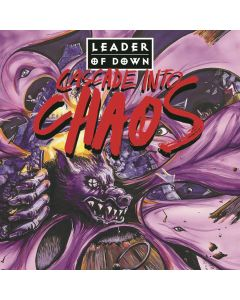LEADER OF DOWN - Cascade Into Chaos / PURPLE LP