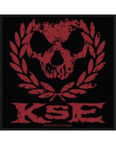 54108 killswitch engage skull wreath patch