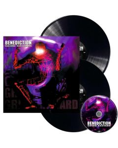BENEDICTION - Grind Bastard / BLACK 2-LP Gatefold + CD