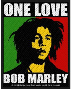 BOB MARLEY - One Love / Patch