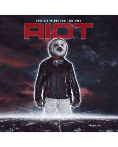 RIOT - Archives Volume 2: 1982-1983 / RED 2-LP + DVD Gatefold