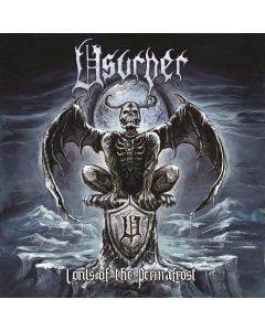 USURPER - Lords Of The Permafrost / BLACK LP