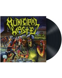 MUNICIPAL WASTE - The Art of Partying / BLACK LP