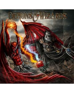 demons & wizards touched by the crimson king digipak cd