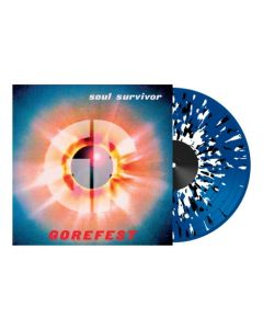 gorefest soul survivor blue white black spaltter lp gatefold