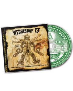 WEDNESDAY13 - Monsters Of The Universe: Come Out And Plague / CD