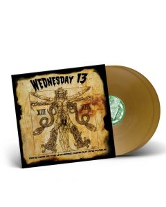 WEDNESDAY13 - Monsters Of The Universe: Come Out And Plague / GOLD 2-LP Gatefold