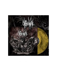 URGEHAL - Aeons in Sodom / Galaxy Effect - YELLOW BLACK 2-LP Gatefold