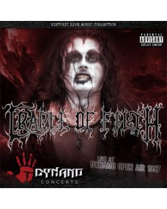 cradle of filth - live at dynamo open air 1997 / cd