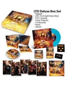 56467 hammerfall dominion - deluxe box power metal