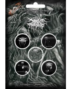 darkthrone old star button badge pack