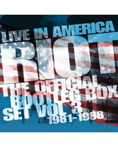 riot - live in america bootleg box vol. 3 - 6-cd box