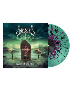 unleashed dawn of the nine green/purple/black splatter lp
