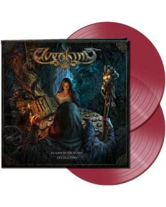 elvenking - reader of the runes - divination - clear red 2-lp