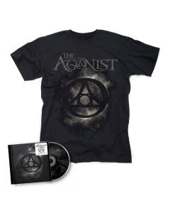 57092 the agonist orphans cd + t-shirt bundle melodic death metal