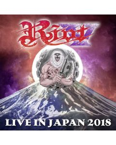 riot v - live in japan 2018 - dvd + 2 cd