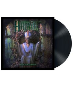 HATRIOT - From Days into Darkness / BLACK LP
