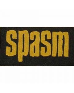 spasm yellow logo patch