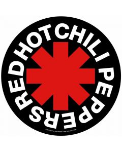 red hot chili peppers asterisk backpatch napalm records