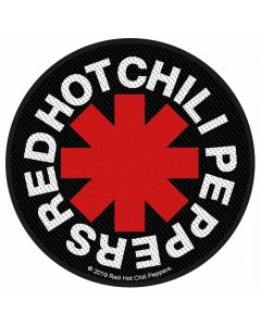 red hot chili peppers asterisk patch