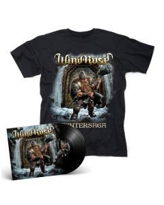 WIND ROSE - Wintersaga / BLACK LP Gatefold + T- Shirt Bundle