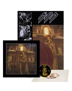 ram - the throne within - clear-viole(n)t-marbled 2-lp + patch