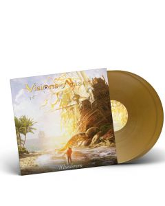 57547 visions of atlantis wanderers gold 2-lp symphonic metal