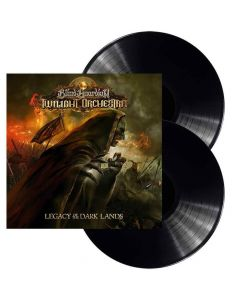blind guardians twillight orchestra - legacy of the dark lands - black 2- lp gatefold