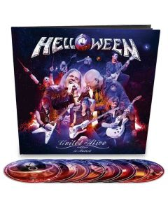 helloween united live earbook