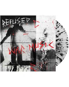 refused - war music - clear with black splatter lp