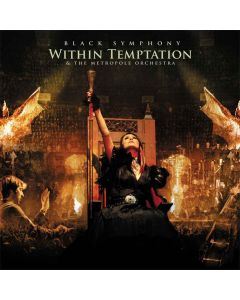 within temptation - black symphony - gold-red marbled 3-lp
