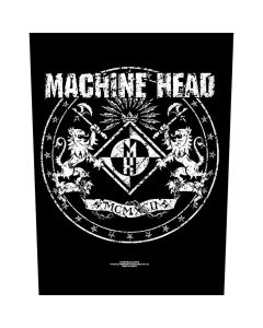 machine head crest backpatch