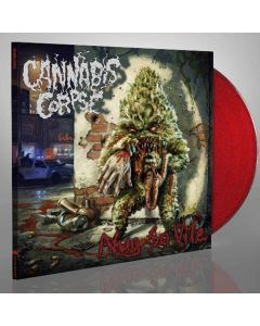 cannabis corpse - nug so vile - red lp - napalm records