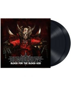 debauchery - blood for the blood god - black 2-lp - napalm records
