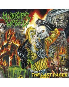 municipal waste the last rager mini cd