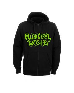 municipal waste the last rager zip hoodie