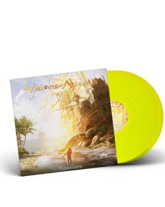 58429 visions of atlantis wanderers neon yellow 2-lp symphonic metal