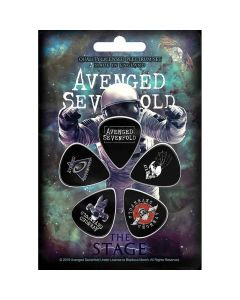 avenged sevenfold the stage plectrum pack