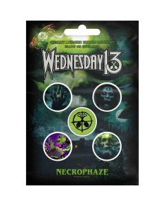 wednesday 13 necrophaze buttons