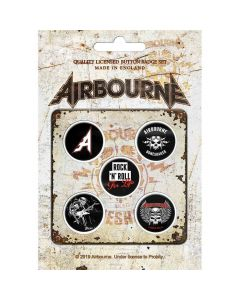 airbourne boneshaker button pack