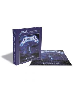 metallica - ride the lightning - puzzle - napalm records