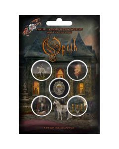opeth in caude veneneum button pack
