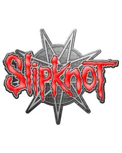 slipknot 9 pointed star pin