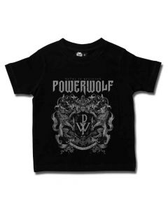 powerwolf crest kids shirt