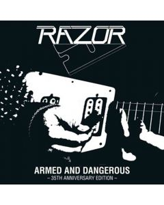 razor armed and dangerous 35th anniversary edition