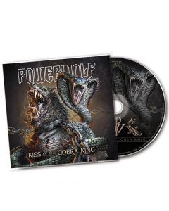 powerwolf kiss of the cobra king maxi cd