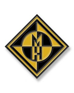machine head diamond logo pin