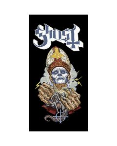 ghost papa beach towel