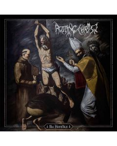 rotting christ the heretics opaque red vinyl